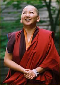 Her Eminence Mindrolling Jetsun Khandro Rinpoche