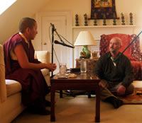 Jetsün Khandro Rinpoche speaking with Walter Fordham of Chronicles Radio.