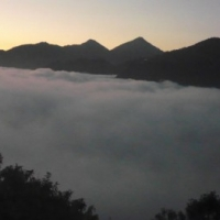 Mountain view from Santen Tse Retreat Centre