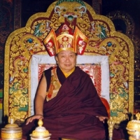 His Holiness Mindrolling Trichen Rinpoche, father of Jetsün Khandro Rinpoche