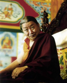 His Holiness Mindrolling Trichen Rinpoche
