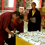 Birthday cake for Dungse Rinpoche