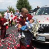 Jetsun Khandro Rinpoche with Dungse Rinpoche