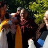 Dungse Rinpoche arrives at Mindrolling