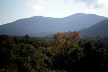 View from the beautiful land of Rigdzin Gatsal, Fall 2011.