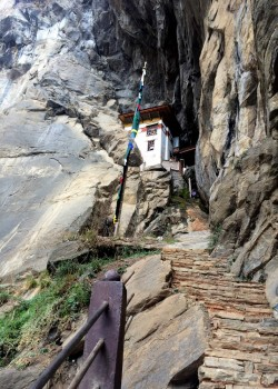 Building made at the site of Yeshe Tsogyal's retreat cave at Taktsang..