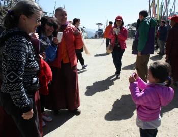 Mindrolling Jetsün Rinpoche.