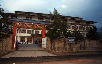 Hotel Pema Karpo in Panakha.