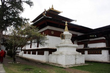 Kyichu Lhakhang in Paro is one of the oldest and most sacred temples in Bhutan. It was built in the 7th century by the Tibetan king Songtsen Gampo, and contains an original 7th century statue of the Buddha and a life-like statue of Dilgo Khyentse Rinpoche.