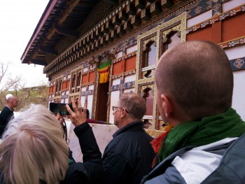 The Dilgo Kyhentse Rinpoche Memorial House now preserved as a museum, Paro, Bhutan.