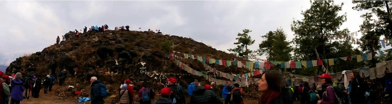Pema Tsek (Lotus Mound). One of the eight charnel grounds of Guru Rinpoche.