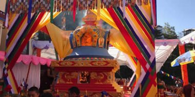 Cremation of the Kudung of Kyabje Taklung Tsetrul Rinpoche