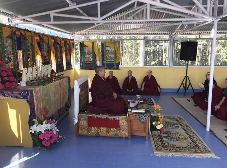 HE Jetsün Khandro Rinpoche teaching