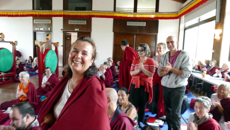 Mahasangha 2018 - Empowerment of Minling Dorsem