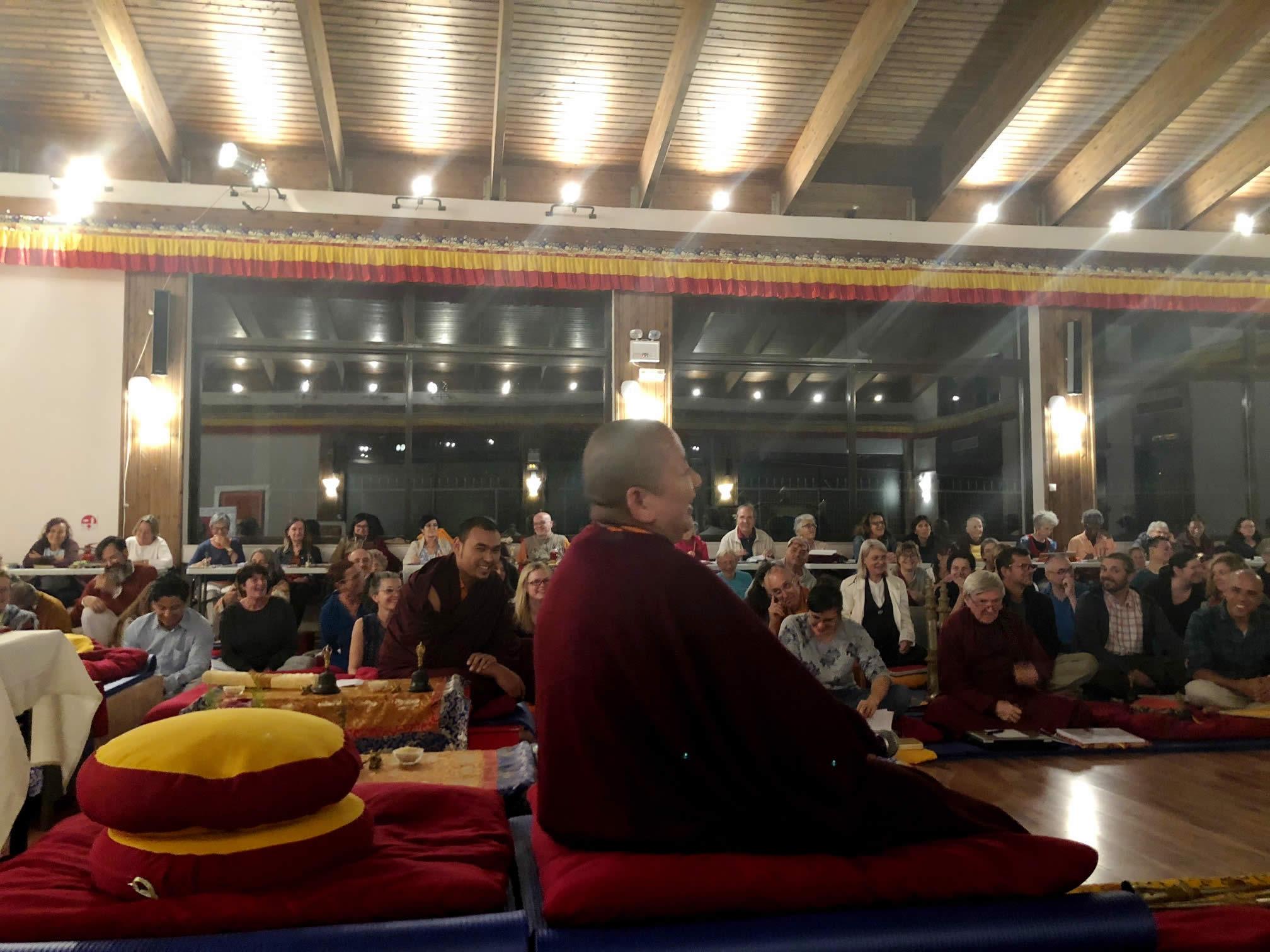 Mahasanga 2018 - Rinpoche and Participants