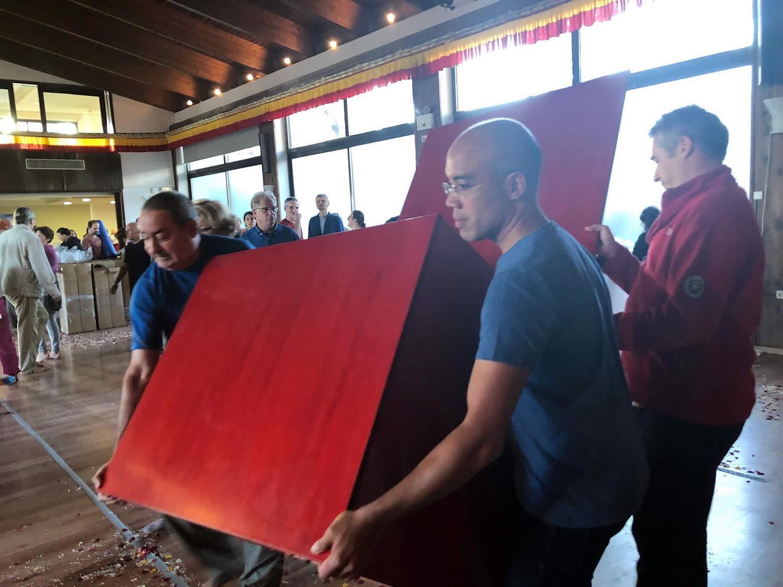 Mahasanga 2018 - Shrine Room Set-Up
