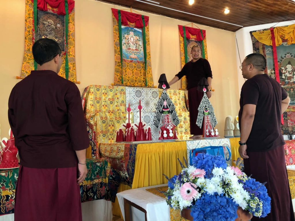 Mahasanga 2018 - Shrine Room Set-Up