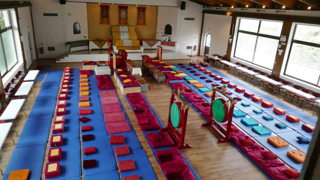 Mahasangha 2018 - Shrine Room Set-Up