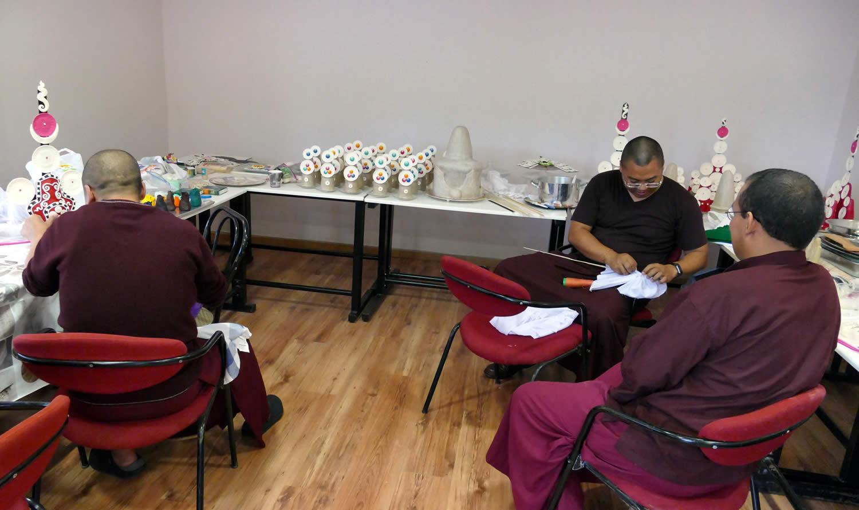 Mahasangha 2018 - Torma Preparation