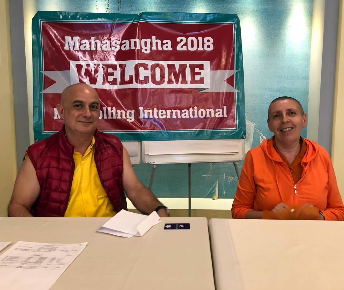 Welcome to Mahasangha 2018