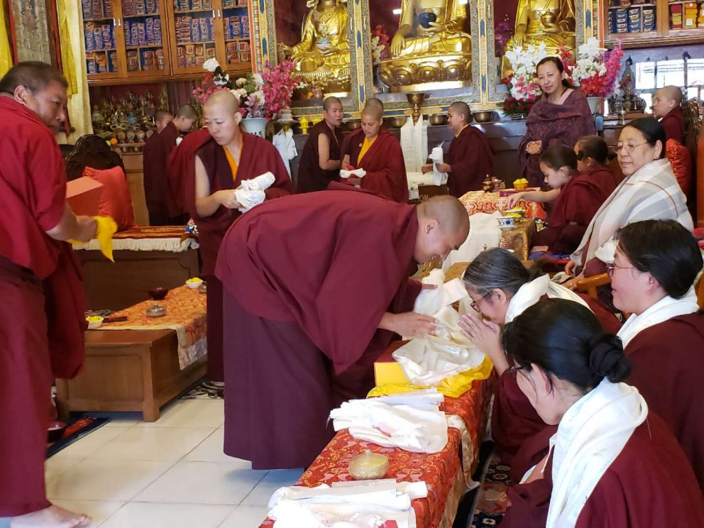 Three-Year Retreat Ends at Samten Tse Retreat Center (STRC)